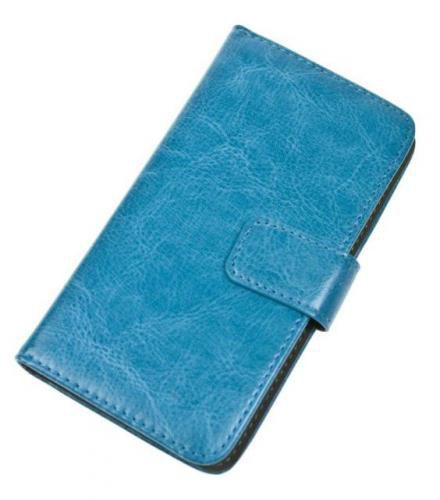 Aligator univerzální pouzdro Book velikost M (modré)