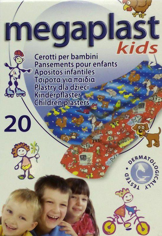 Megaplast dětská klasická náplast, 20ks