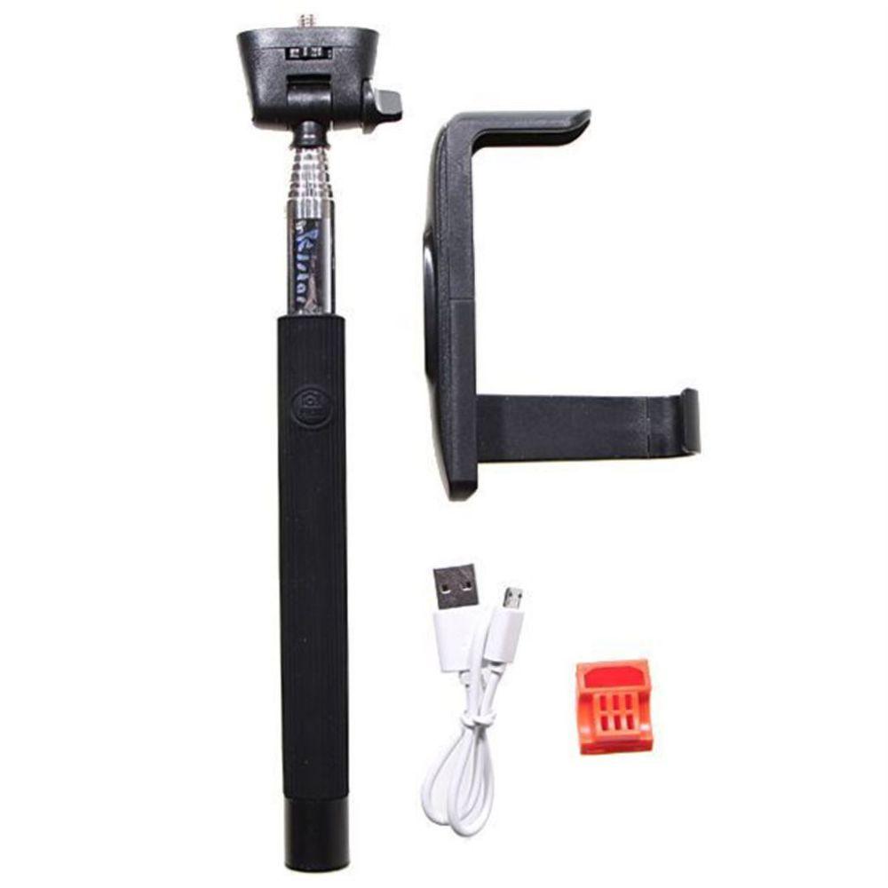 Aligator Selfie držák s Bluetooth Z07-5 (černý)