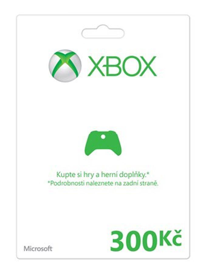 Xbox Live Předplacená dárková karta 300 Kč