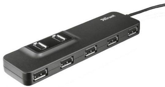 Trust Oila hub USB 2.0 s 7 porty, 20576