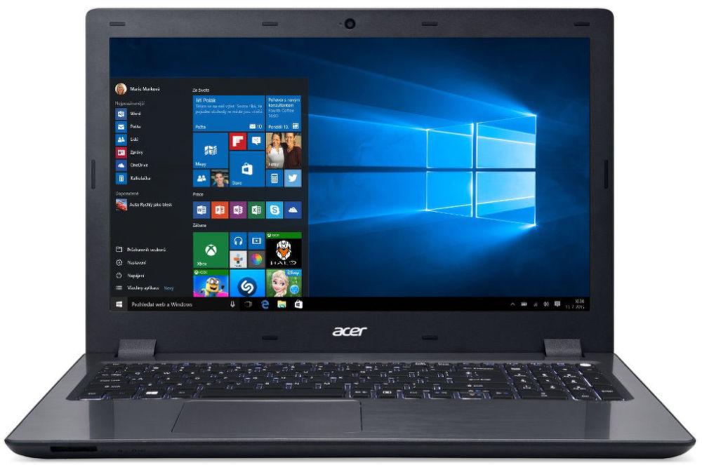 Acer Aspire V15, NX.G66EC.001 (černý) + dárek Microsoft Wireless Mobile Mouse 3600 PN7-00004 (černá) zdarma