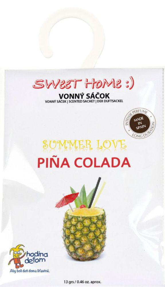 Sweet Home Summer Love - Pina Colada, vonný sáček