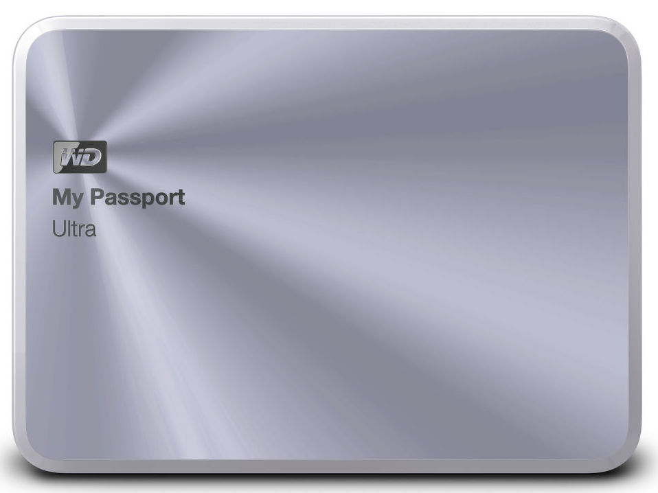 WD My Passport Ultra Metal 1TB (stříbrný)