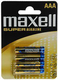 Maxell LR03 4BP AAA Super Alk