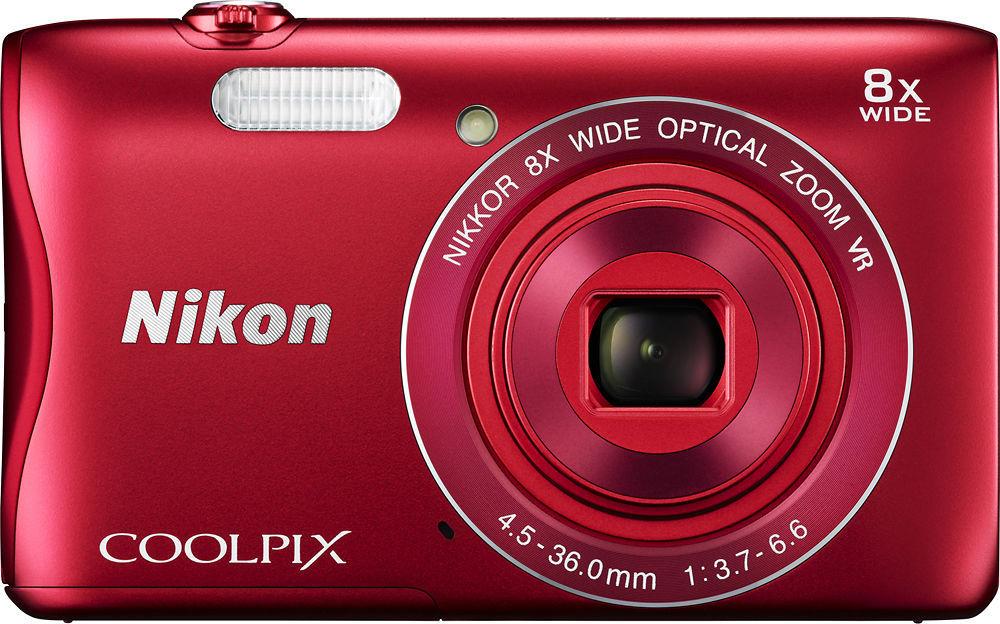 Nikon Coolpix S3700 (červený)