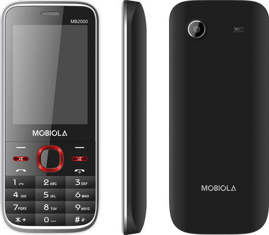 Mobiola 2000 Dual SIM (černý)