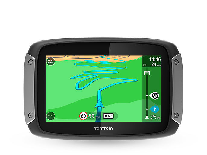 tomtom rider 400 europe lifetime navigace. Black Bedroom Furniture Sets. Home Design Ideas