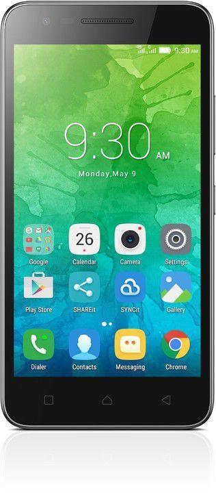 Lenovo Vibe C2 8GB (černý) + dárek T-Mobile mobilní internet s kreditem 200 Kč zdarma
