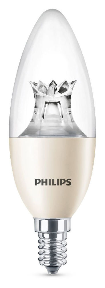 Philips Lighting 8W (60W) B40 E14 WW