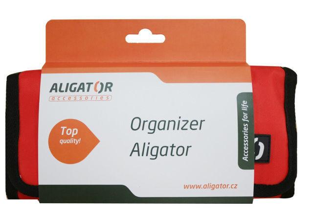 Aligator cestovní organizér (červený)