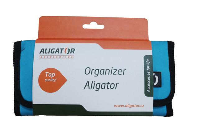 Aligator cestovní organizér (modrý)
