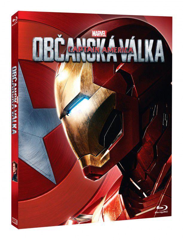 Magic Box Blu-Ray Kapitán Amerika: Občanská válka (Iron Man)