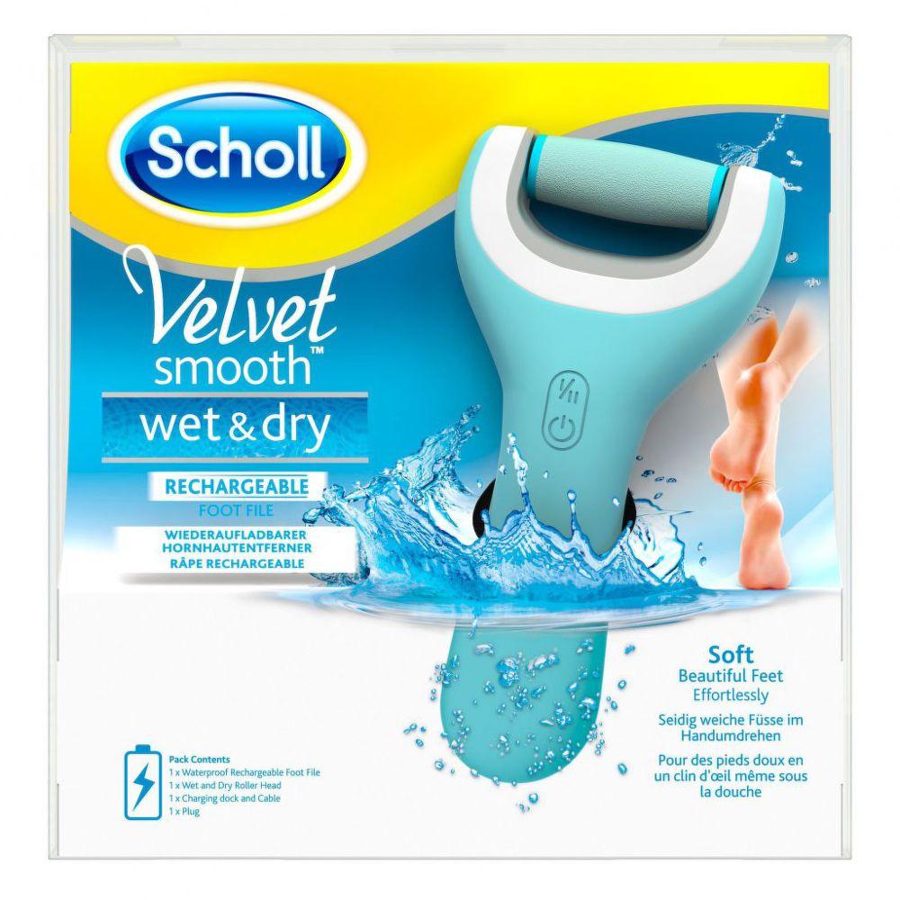 Scholl Foot Wet&Dry - Elektrický pilník na chodidla