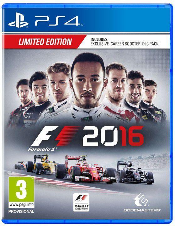 F1 2016 - PS4 hra