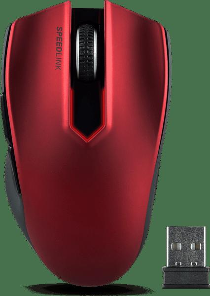 Speedlink Exati Auto DPI (červená)