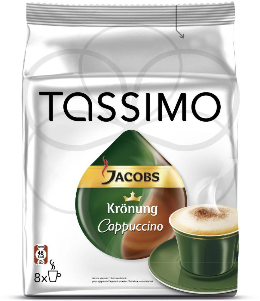 Tassimo Jacobs Cappuccino - Kapslová káva
