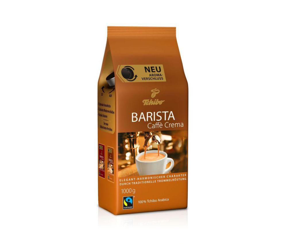 Tchibo Barista Caffe Crema 1kg - Zrnková káva