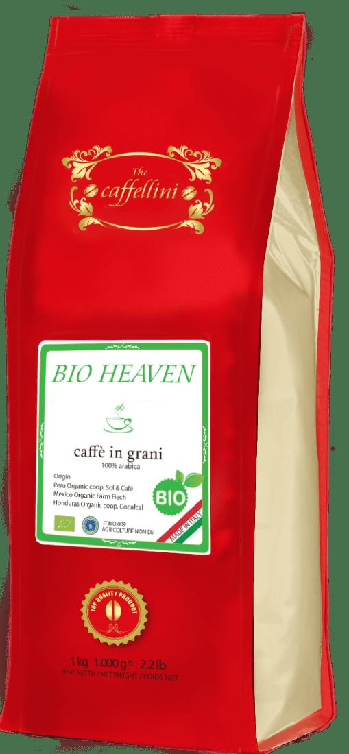 CAFFELLINI Bio Heaven 1kg - Zrnková káva