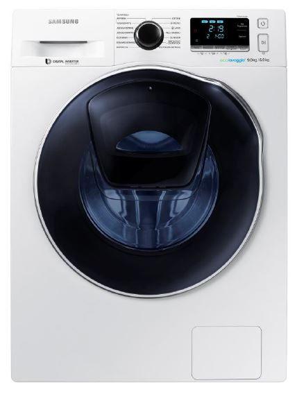 Samsung WD90K6400OW/ZE - AddWash práčka se sušičkou (bílá)