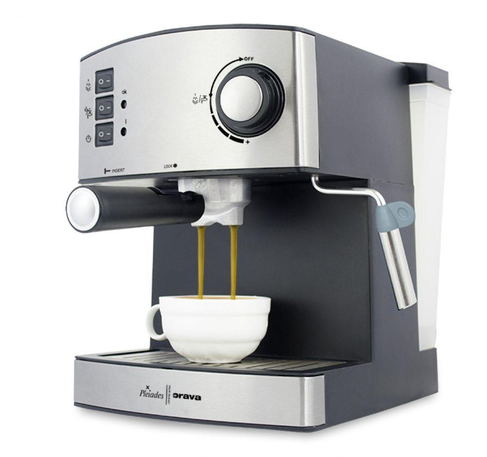 ORAVA ES-150 (stříbrná) - Pákové espresso