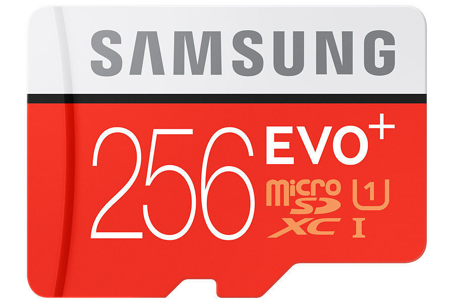 Samsung 256 GB EVO Plus, SDXC karta