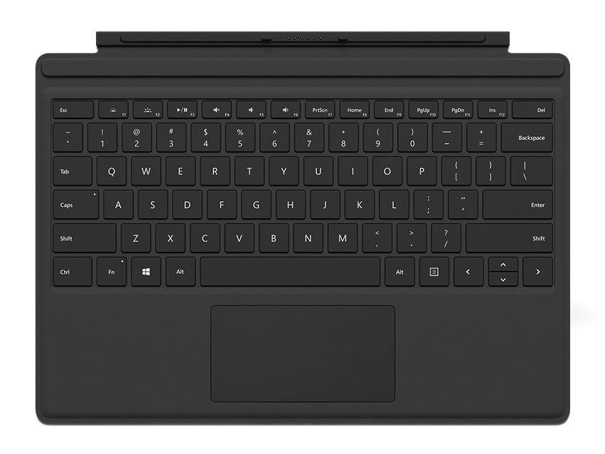 Microsoft Surface Pro 4 Cover (černý)