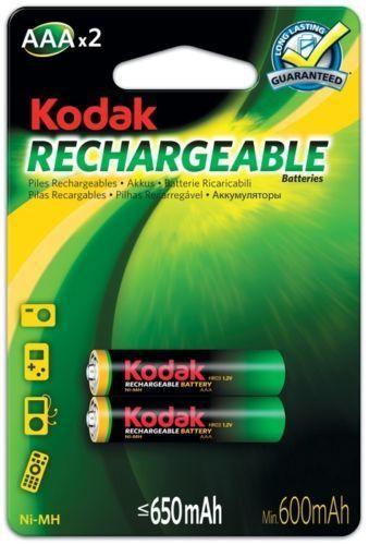 Kodak HR03/650 2ks, Baterie