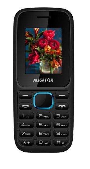 Aligator D200 Dual SIM černo-modrý