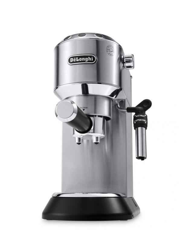 DELONGHI Dedica EC685.M (stříbrná) - Pákové espresso