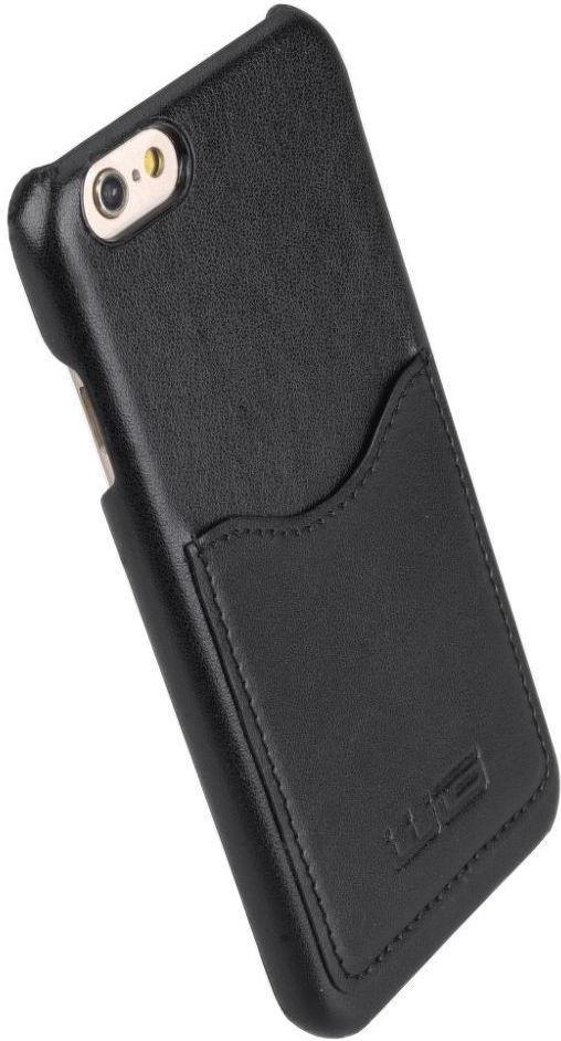 Winner iPhone 6/6S Velvet černé pouzdro na mobil