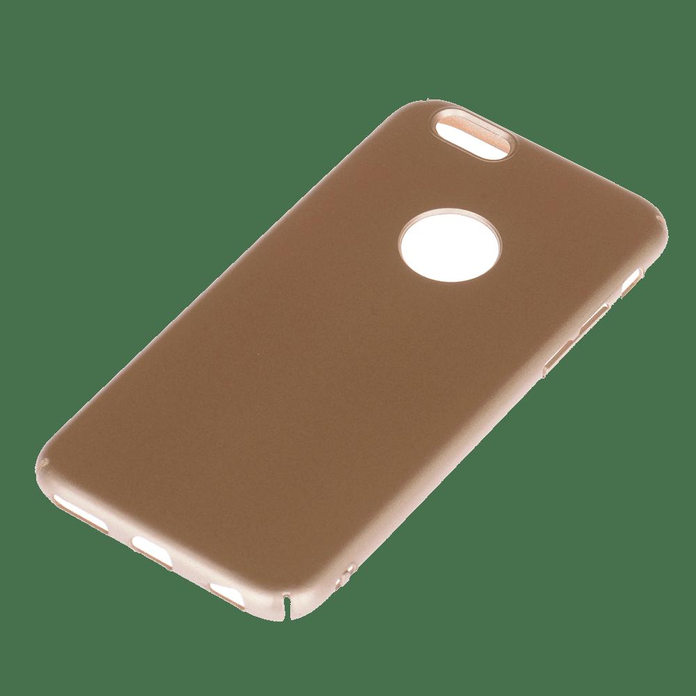 Winner iPhone 6/6S Velvet hnědé pouzdro na mobil