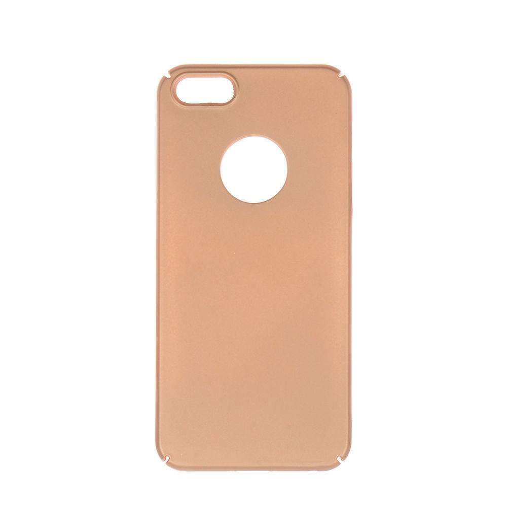 Winner iPhone 5 Velvet hnědé pouzdro na mobil