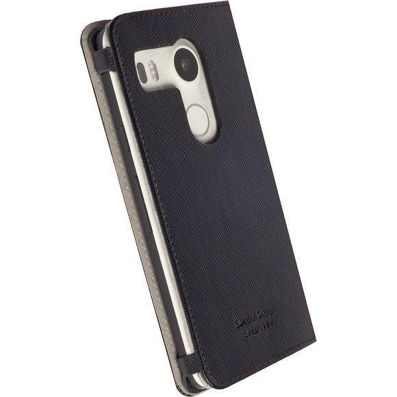 Krusell Malmo LG Nexus 5X černé knižkové pouzdro