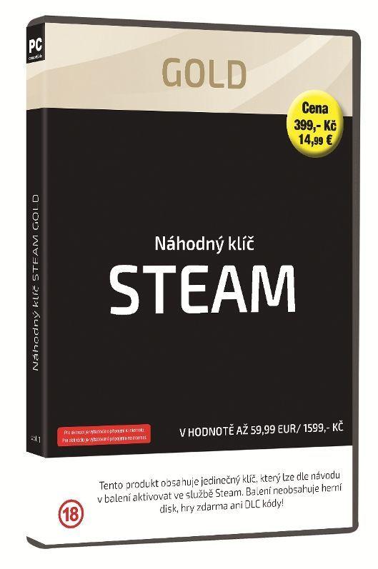 Steam Gold náhodný klíč k PC hre