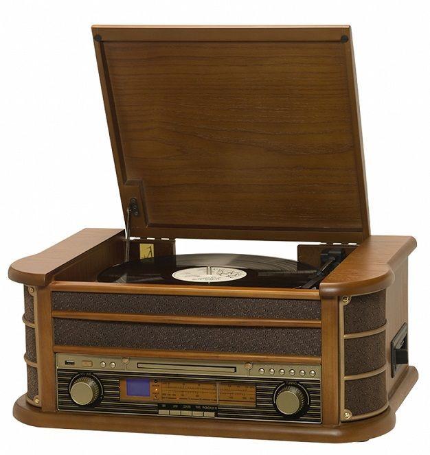 Orava RR-65 retro rádio s gramofónm