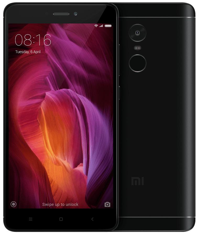 Xiaomi Redmi Note 4 3GB/32GB Dual SIM, černá