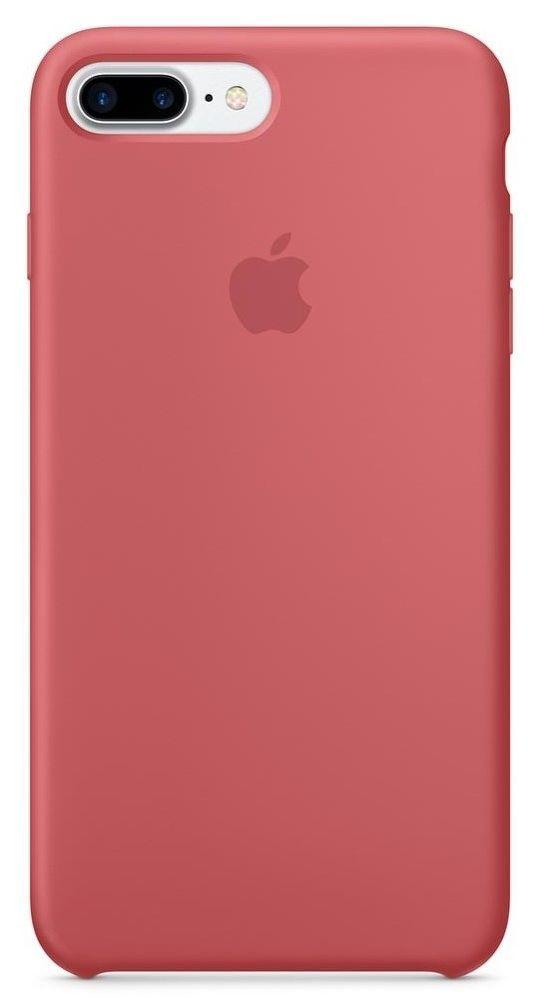 Apple iPhone 7+ Camellia červené silikónové pouzdro