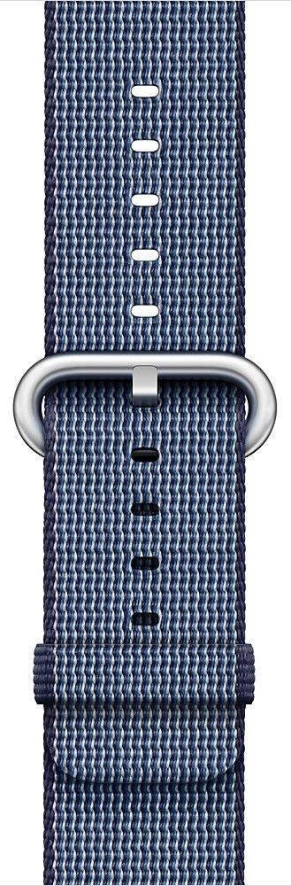 Apple Watch 42mm půlnoční modrý nylonový řemínek