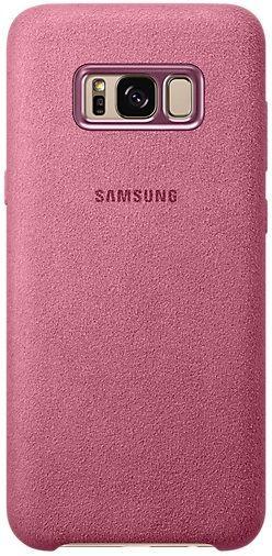 Samsung Alcantara Cover EF-XG955 Galaxy S8+ růžový