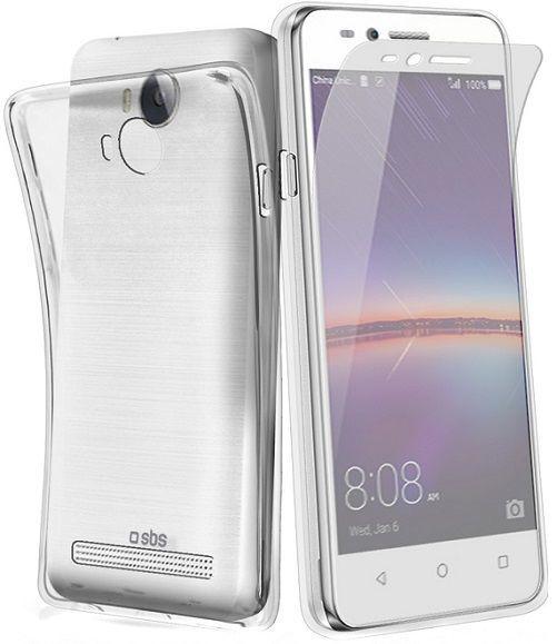 SBS pouzdro na mobil Huawei Ascend Y3 II transparentní