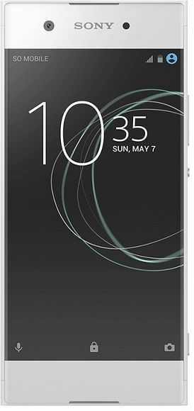 Sony Xperia XA1 bílý + dárek Sony MDR-AS410AP černá zdarma