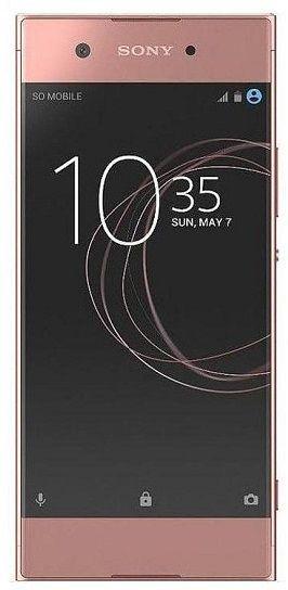 Sony Xperia XA1 růžový + dárek Sony MDR-AS410AP černá zdarma