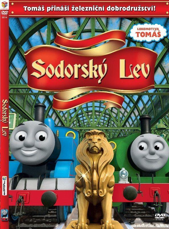 Lokomotiva Tomáš - Sodorský lev - DVD film