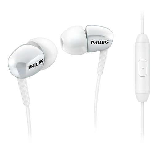 Philips SHE3905WT/00 bílá