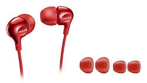 Philips SHE3700RD/00 červené