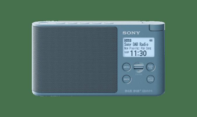 Sony XDR-S41DL modré
