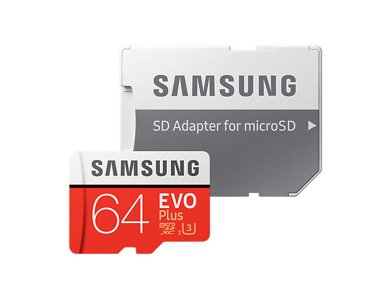 Samsung Micro SDXC 64GB EVO Plus + SD adaptér MB-MC64GA/EU