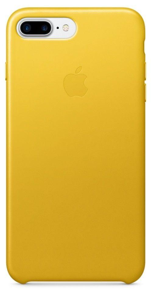Apple iPhone 7 Plus Leather Case žlutý