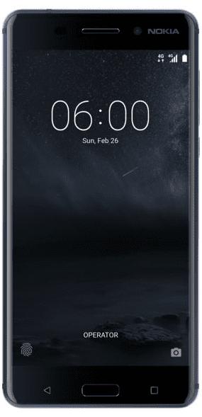 Nokia 6 modrý
